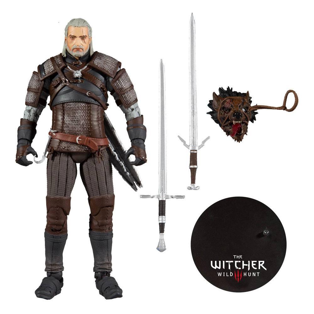 Figurka Zaklínač - Geralt Action Figure 18 cm (McFarlane) (PC)
