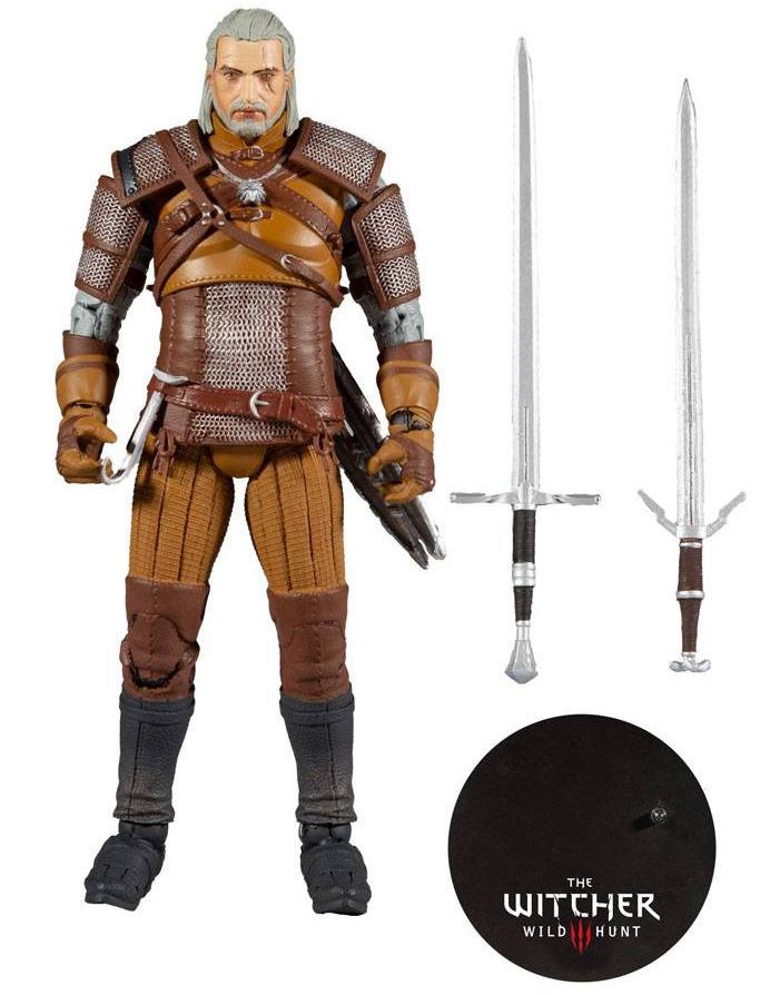 Figurka Zaklínač - Geralt Action Figure 18 cm (McFarlane, Gold Label Collection) (PC)