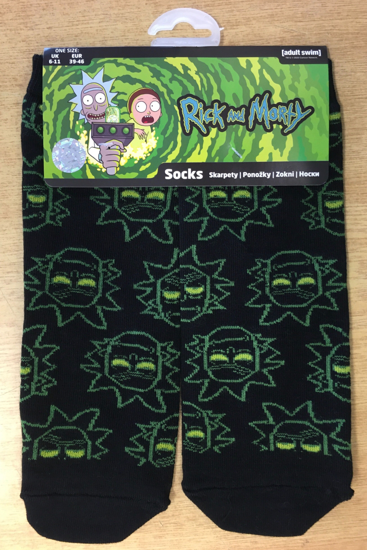 Ponožky Rick and Morty - Rick Ankle Socks (PC)