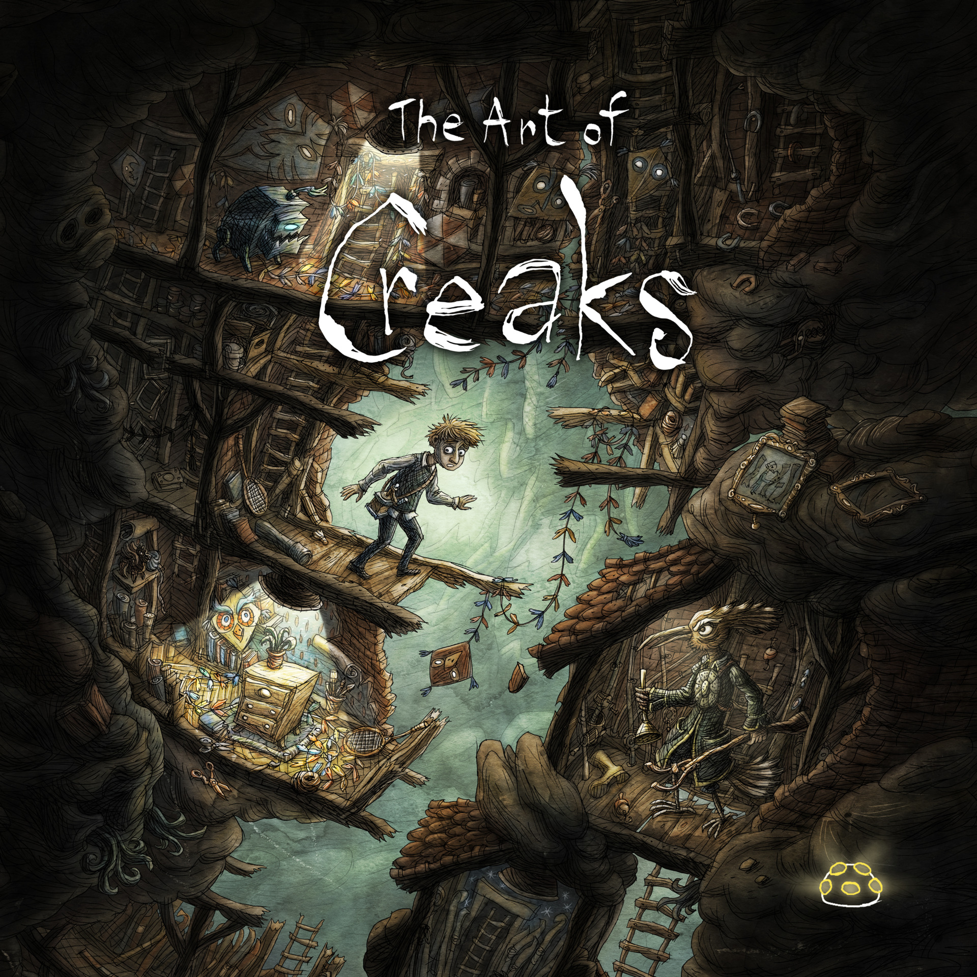 Kniha The Art of Creaks (PC)