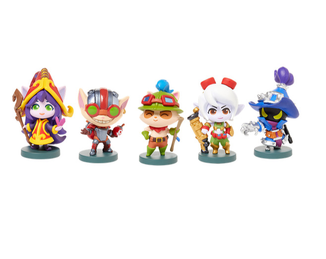 Figurky League of Legends - Yordles Set (PC)