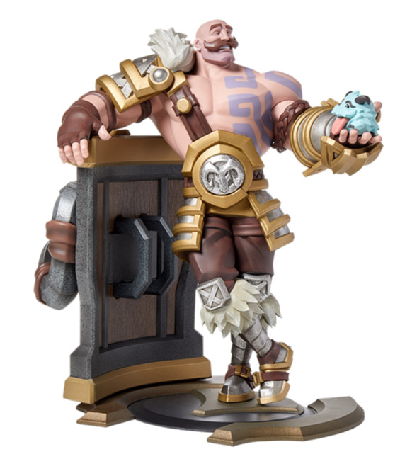 Figurka League of Legends - Braum Unlocked (27 cm) (PC)