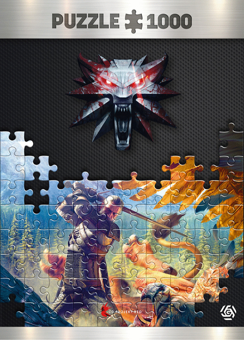 Puzzle Zaklínač - Griffin Fight (Good Loot) (PC)