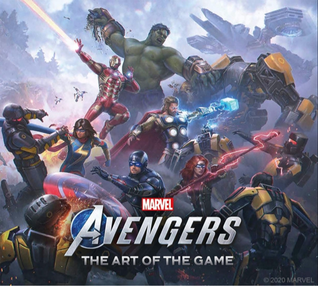 Kniha Marvel's Avengers: The Art of the Game (PC)