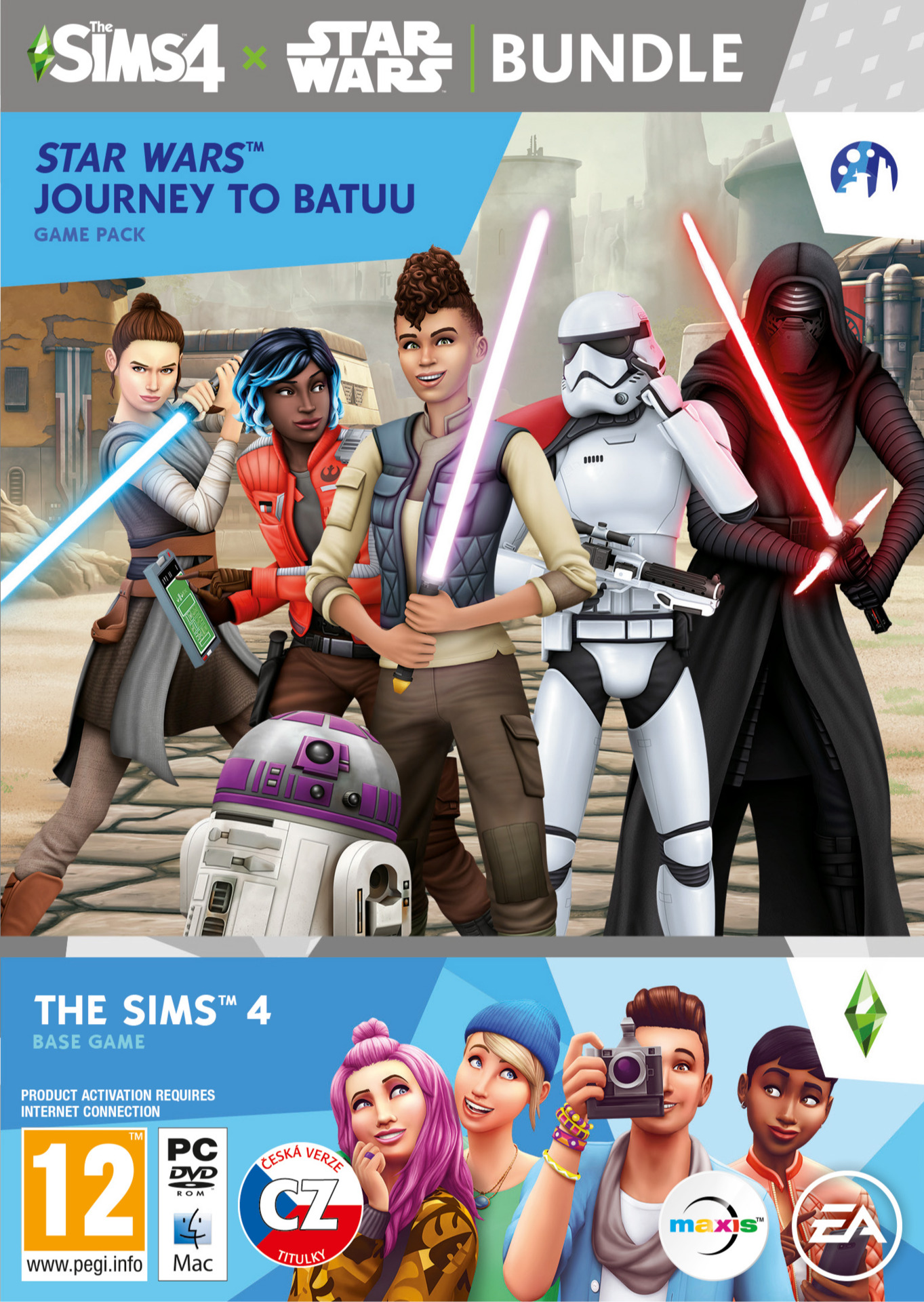 The Sims 4 + Star Wars: Výprava na Batuu (PC)