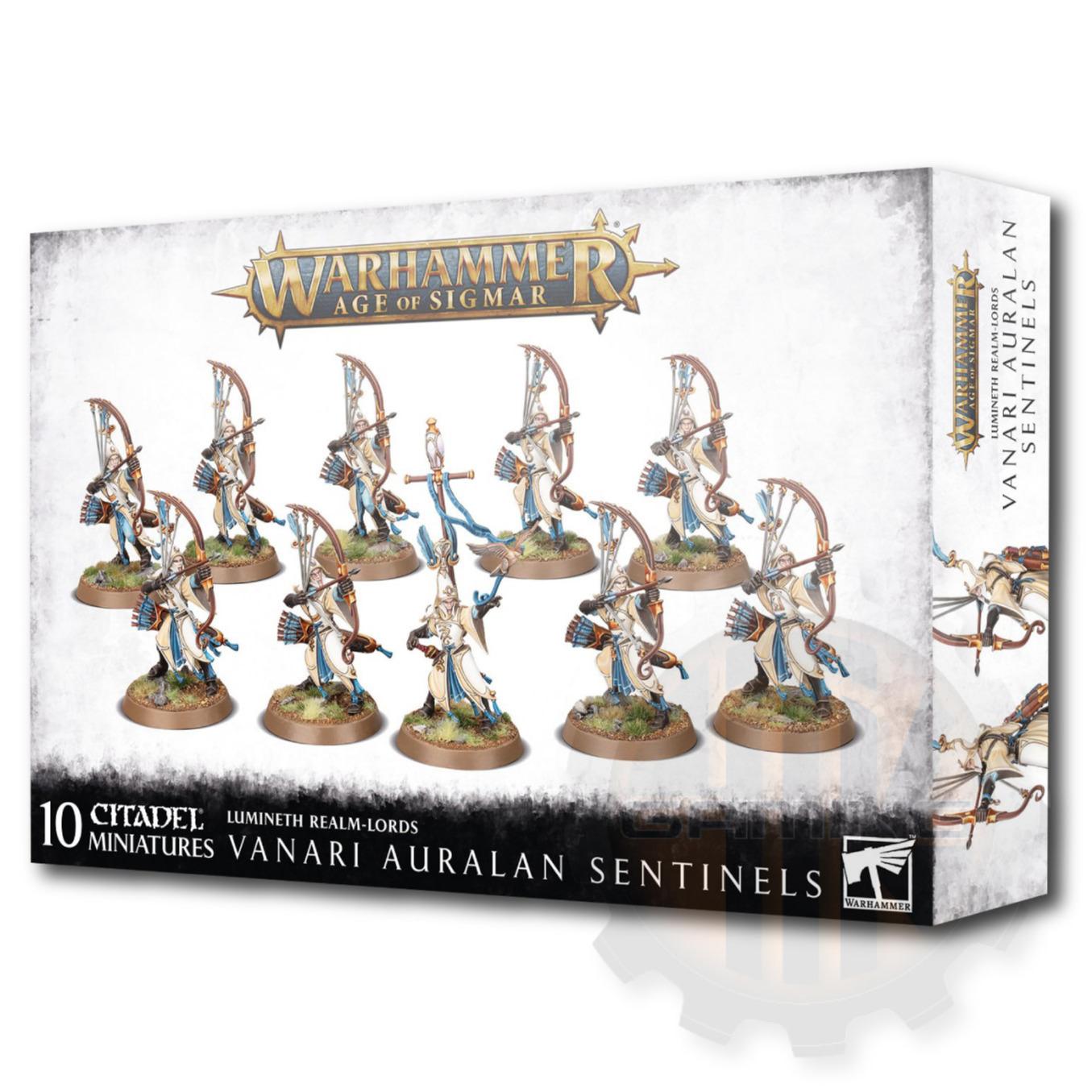 W-AOS: Lumineth Realm Lords Vanari Auralan Sentinels (10 figurek) (PC)