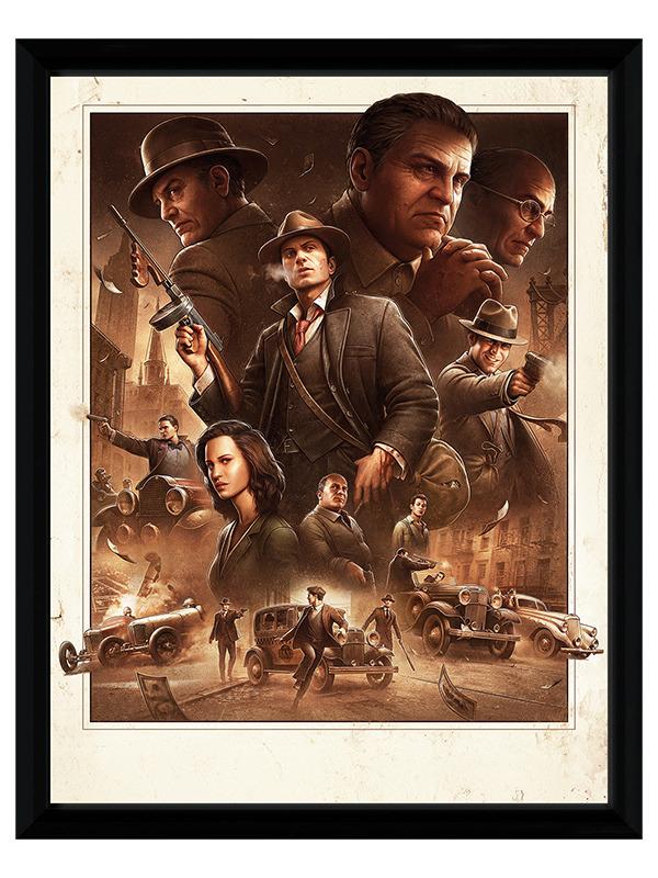 Zarámovaný plakát Xzone Originals - Cosa Nostra (PC)