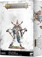 W-AOS: Lumineth Realm Lords Avalenor The Stoneheart King (1 figurka)