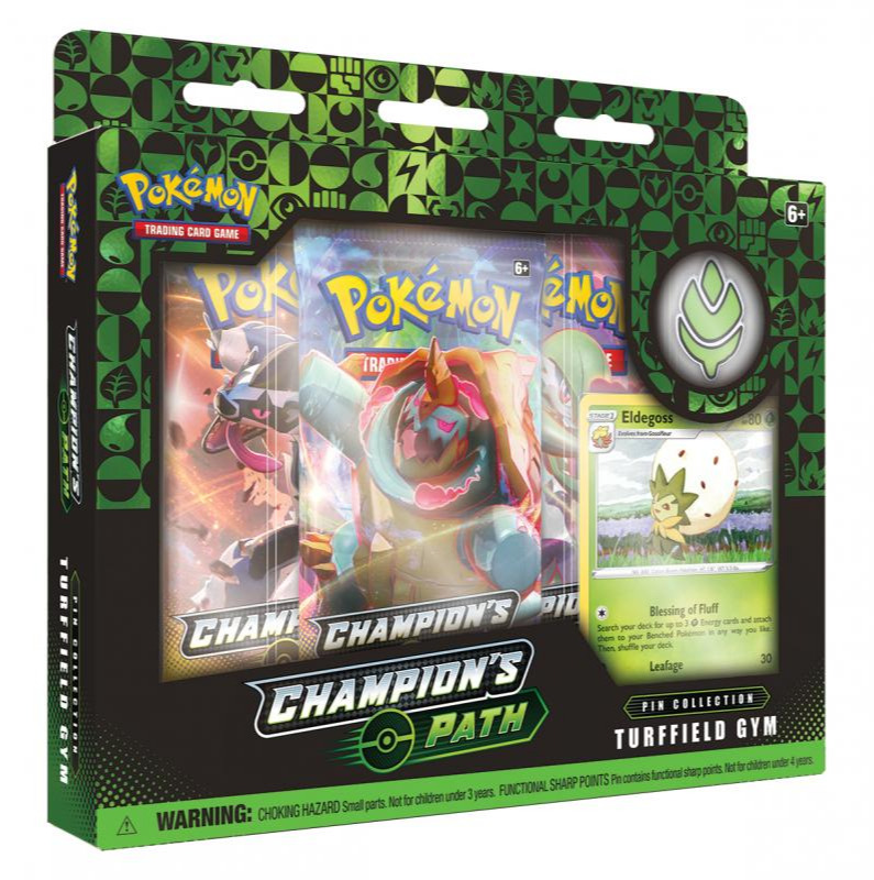 Karetní hra Pokémon TCG: Champion's Path - Pin Collection (Turfield Gym) (PC)