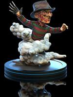 Figurka Nightmare on Elm Street - Freddy Krueger (Q-Fig)