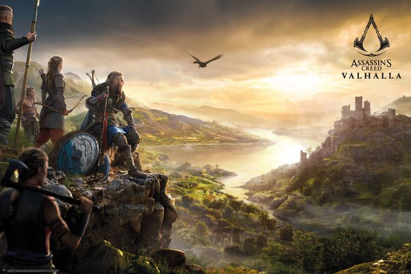 Plakát Assassins Creed: Valhalla - Vista