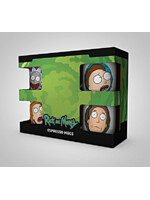 Hrnek Rick and Morty - Espresso Sada - 4 ks