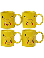 Hrnek Pokémon - Espresso Sada Pikachu - 4 ks