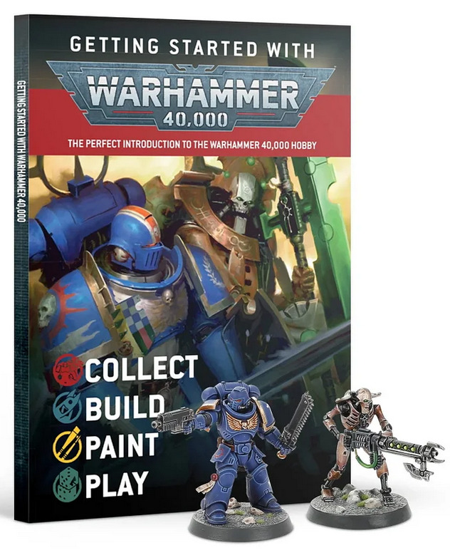 Kniha Getting Started with Warhammer 40000 (2020) (PC)