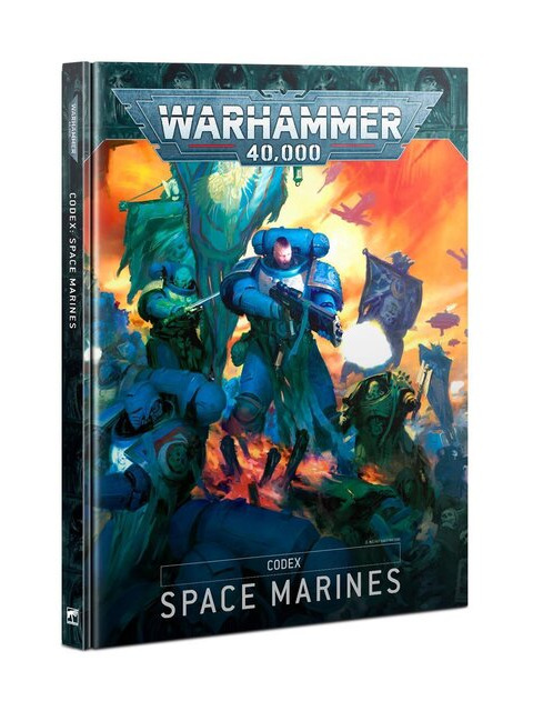Kniha W40k: Codex: Space Marines (2020) (PC)