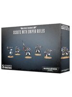 W40k: Space Marines Scouts with Sniper Rifles (5 figurek)
