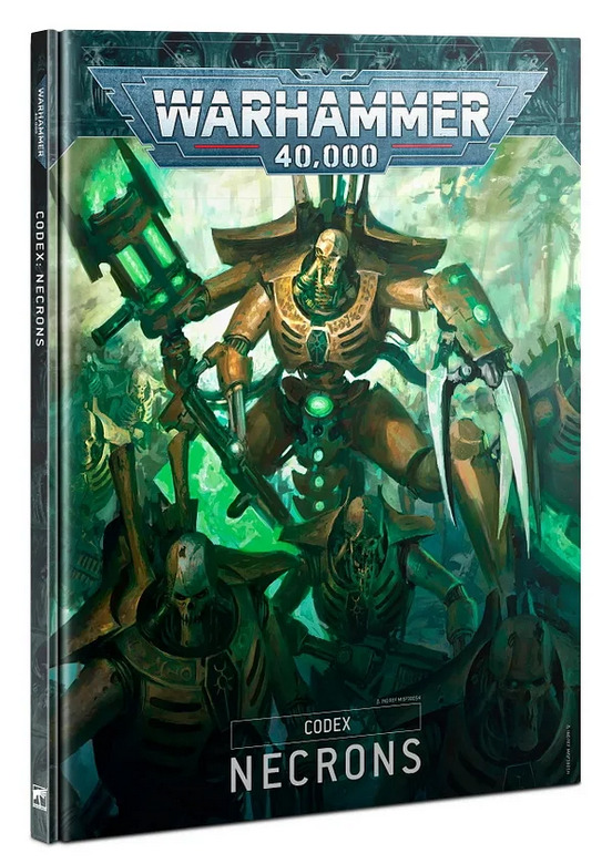 Kniha W40k: Codex: Necrons (2020) (PC)