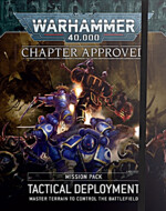 Kniha W40k: Mission Pack Chapter Approved Tactical Deployment