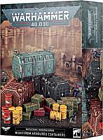 Levně W40k: Battlezone: Manufactorum Munitorum Armoured Containers