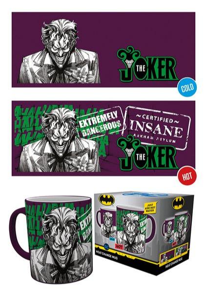Hrnek DC Comics - Joker (měnící se) (PC)