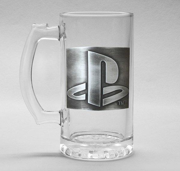 Sklenice PlayStation - Logo