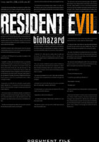 Kniha Resident Evil 7: Biohazard Document File