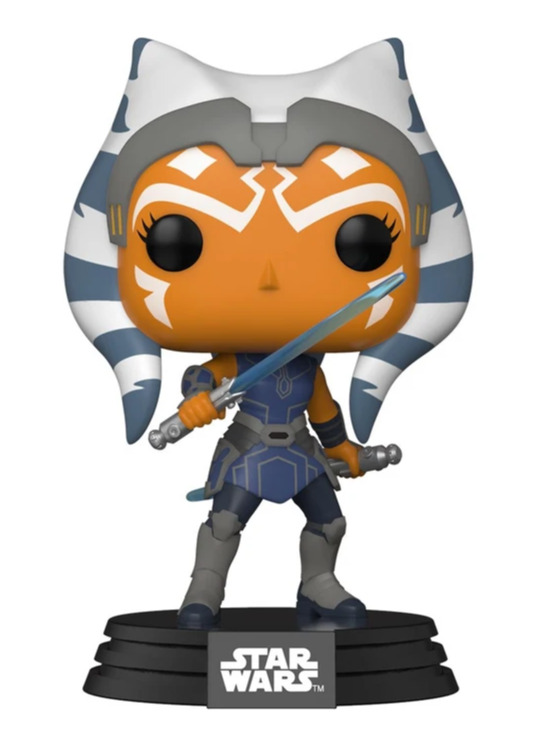 Figurka Star Wars: Clone Wars - Ahsoka (Funko POP! Star Wars 409) (PC)