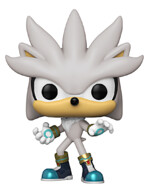 Figurka Sonic - Silver the Hedgehog (Funko POP! Games 633)