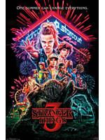 Plakát Stranger Things - Season 3