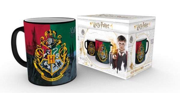 Hrnek Harry Potter - Hogwarts Crest (měnící se) (PC)