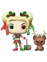 Figurka DC Comic - Holiday Harley Quinn with Helper (Funko POP! DC 357)