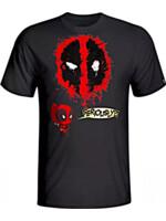 Tričko Marvel - Seriously Deadpool (velikost L)