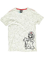 Tričko Super Mario - Space Dye
