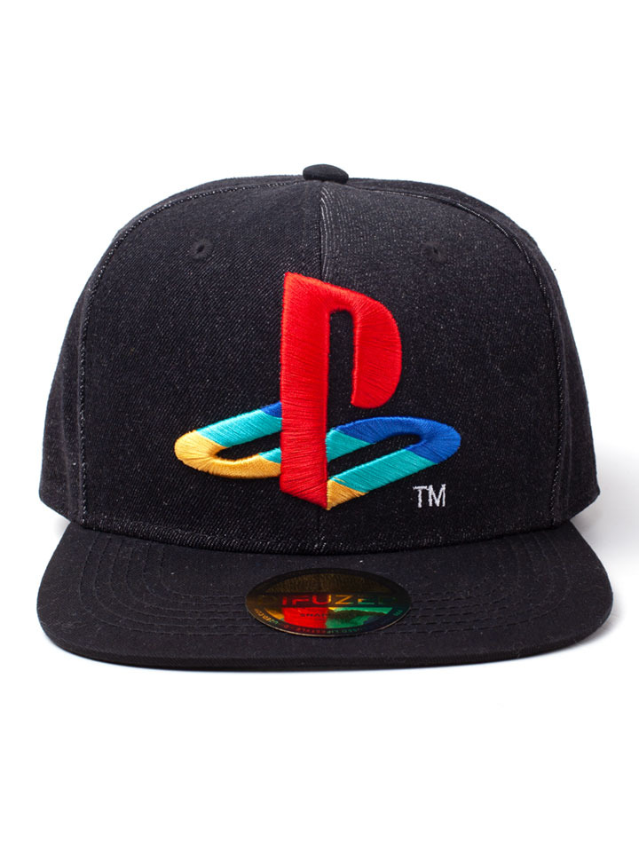 Kšiltovka PlayStation - Denim Logo