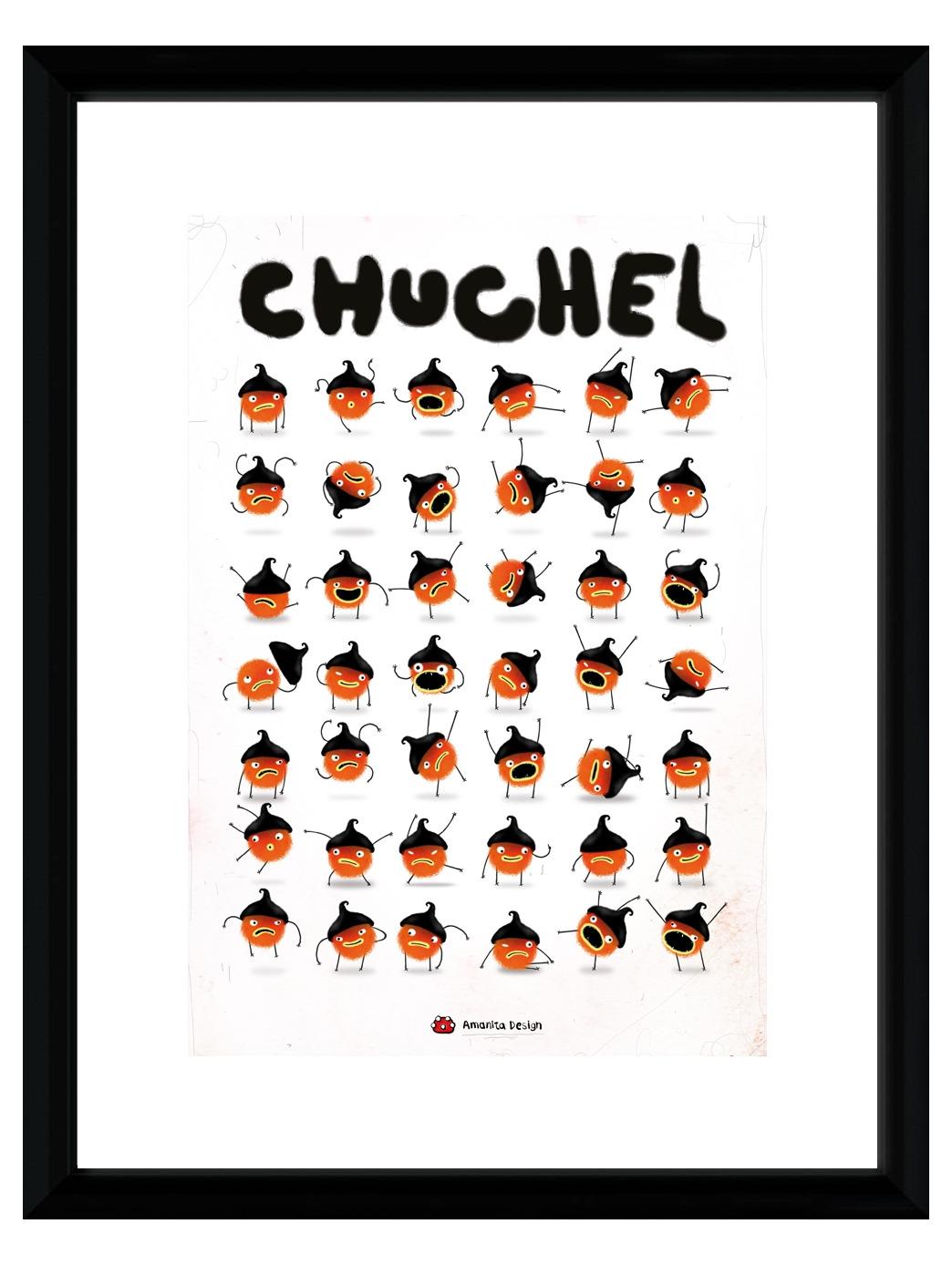 Zarámovaný plakát Xzone Originals - Chuchel (PC)