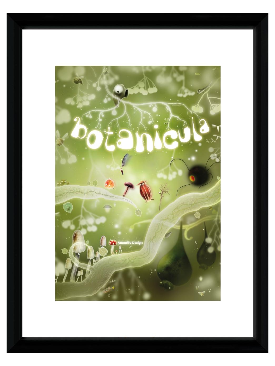 Zarámovaný plakát Xzone Originals - Botanicula (PC)