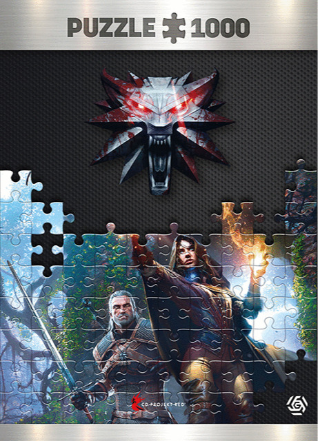 Puzzle Zaklínač - Yennefer (Good Loot) (PC)