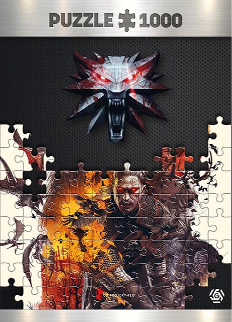 Puzzle Zaklínač - Monsters (Good Loot) (PC)