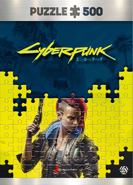 Puzzle Cyberpunk 2077 - Keyart Female V (Good Loot) (PC)
