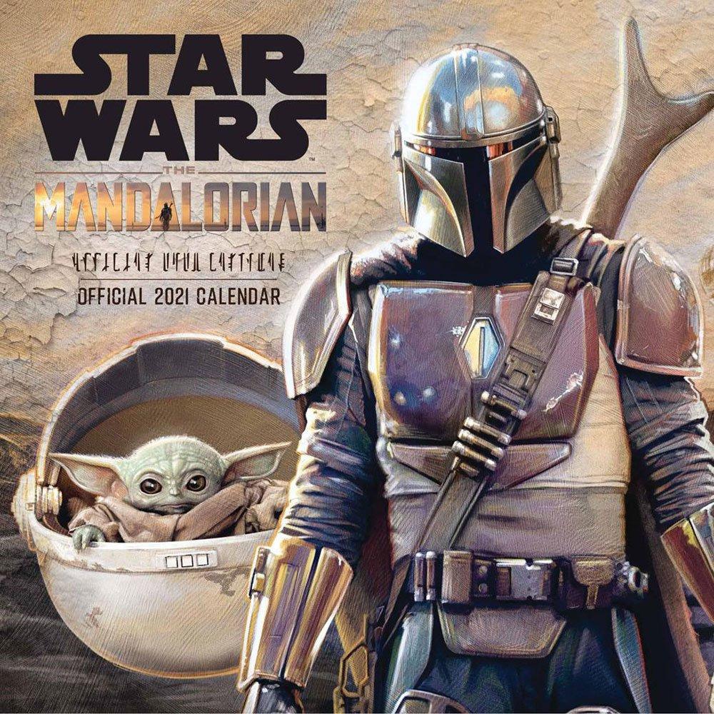 Kalendář Star Wars: The Mandalorian 2021 (PC)