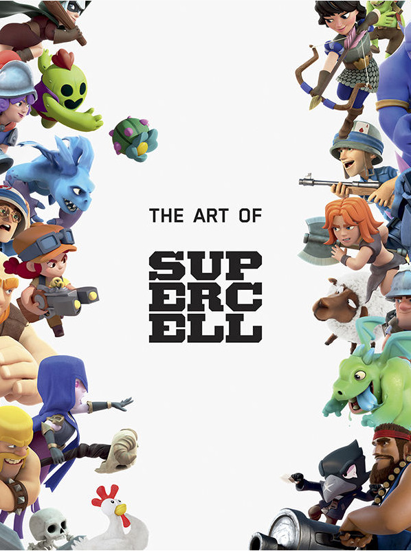 Kniha The Art of Supercell: 10th Anniversary Edition (PC)