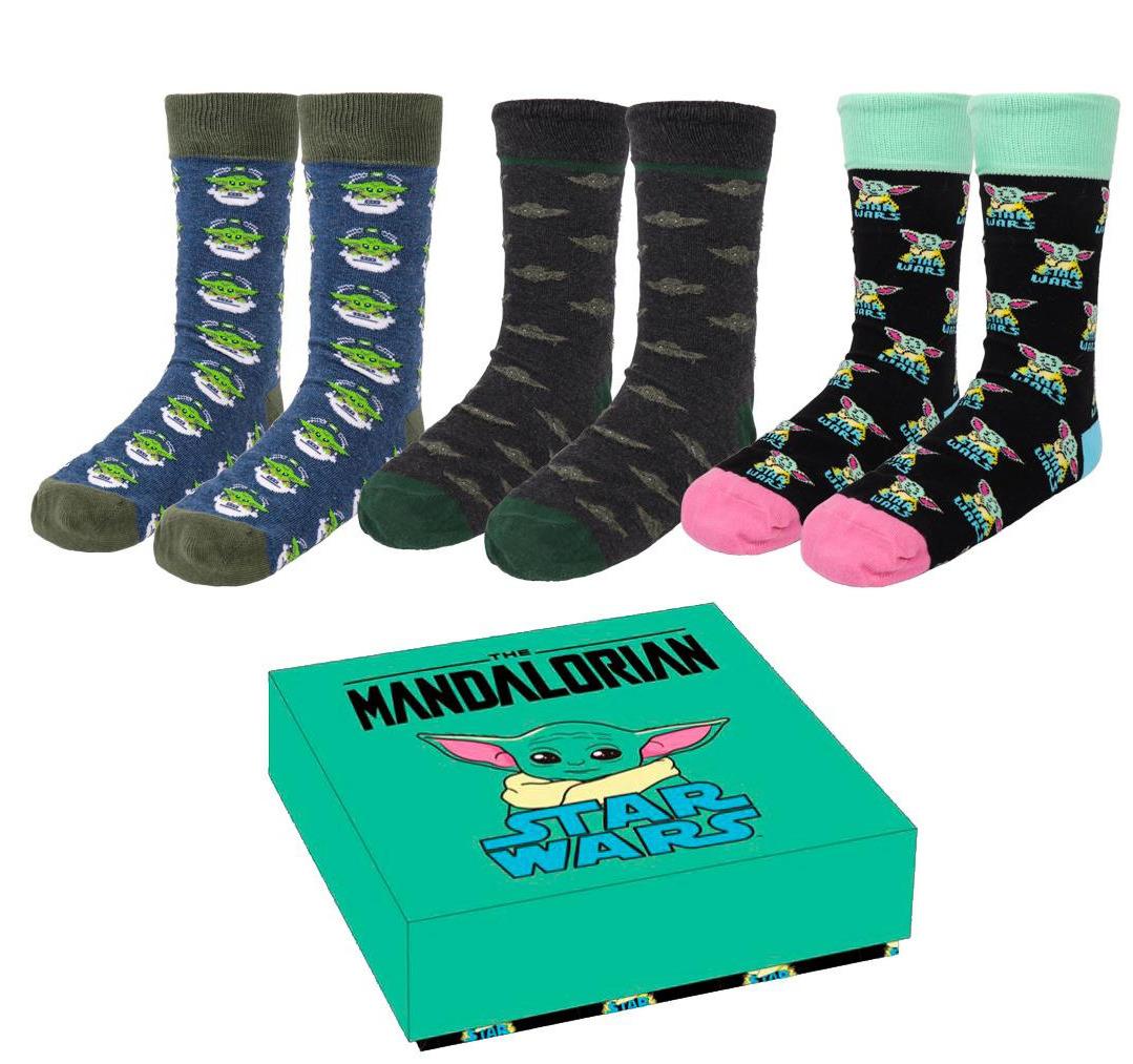 Ponožky Star Wars: The Mandalorian - The Child (3 páry 35-41)