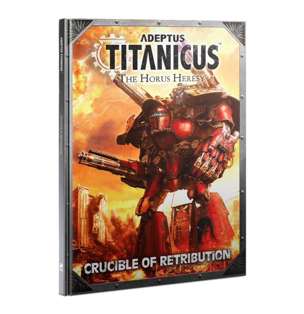 Kniha W40k Adeptus Titanicus: Crucible of Retribution (PC)