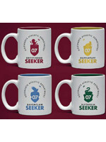 Hrnek Harry Potter - Quidditch Espresso Sada - 4 ks