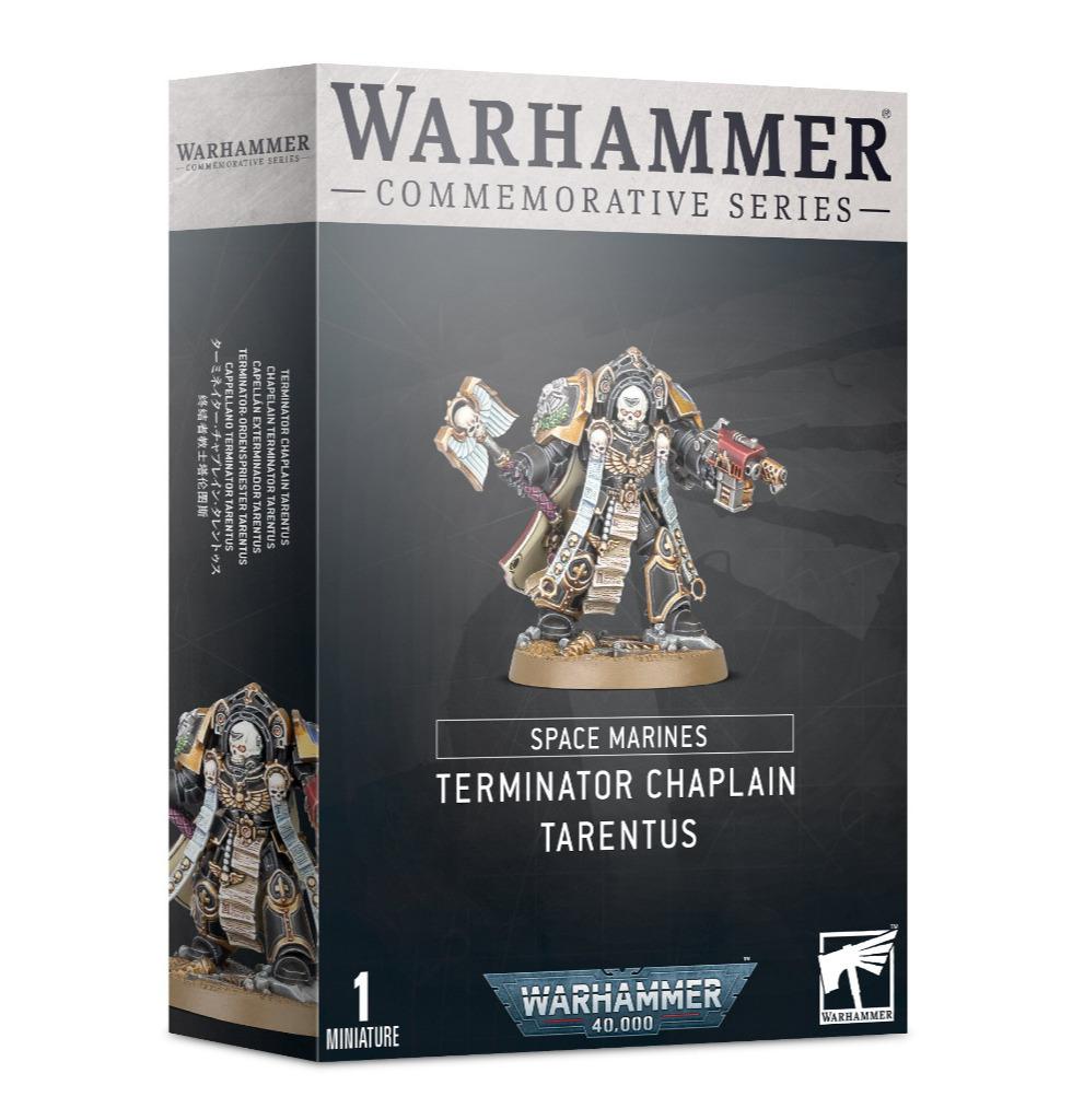 W40k: Space Marines Terminator Chaplain Tarentus (1 figurka)