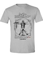 Tričko The Walking Dead - DD Vitruvian Man (velikost XL)