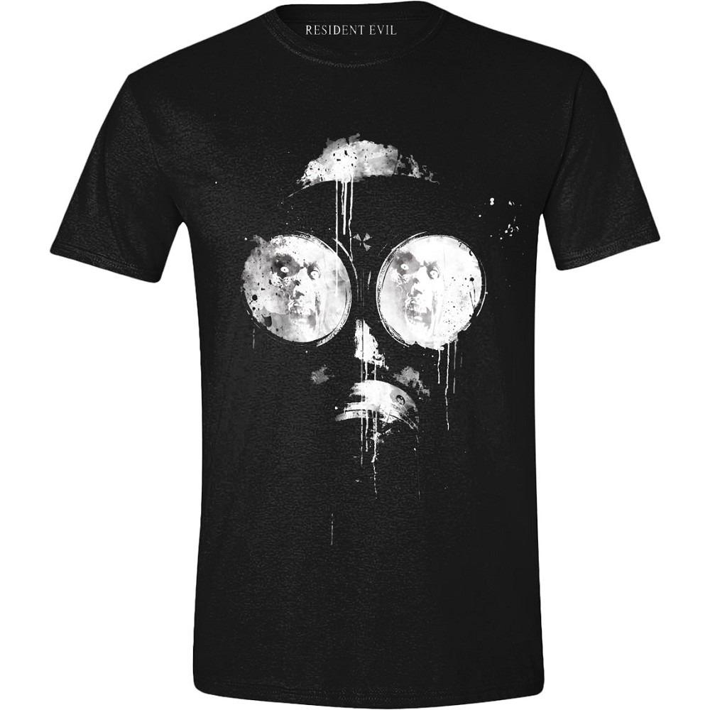 Tričko Resident Evil  - Inked Mask (velikost L)