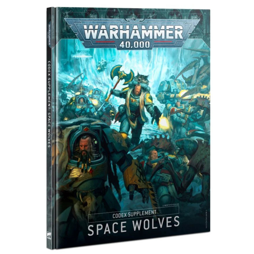 Kniha W40k: Codex: Space Wolves (2020) (PC)