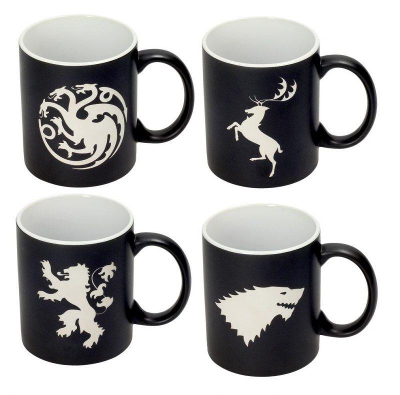 Hrnek Game of Thrones - Emblems (sada 4 hrnků) (PC)