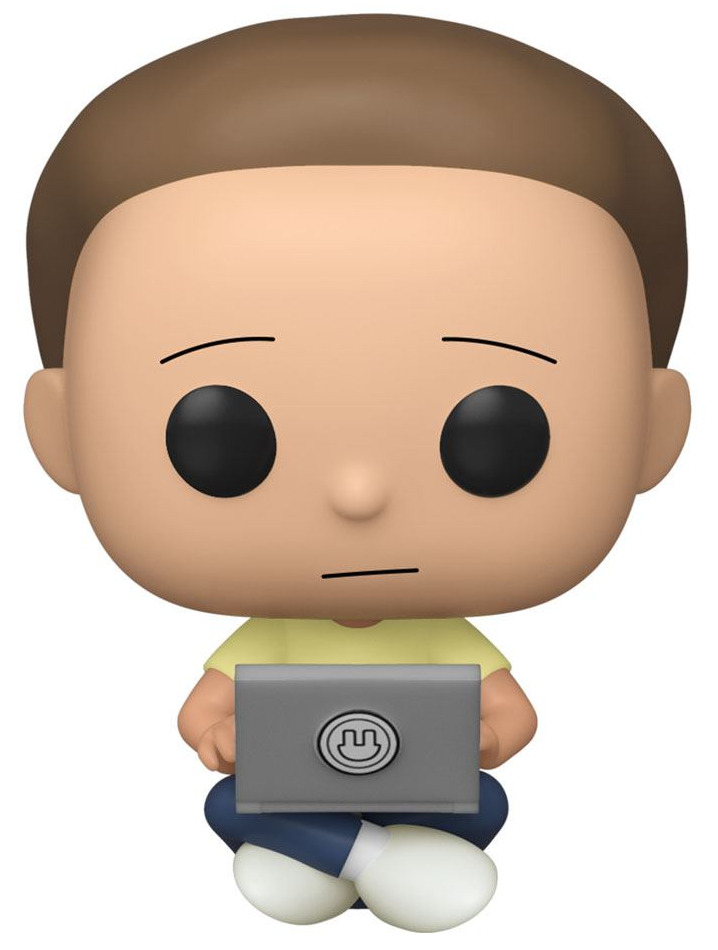 Figurka Rick and Morty - Morty with Laptop (Funko POP! Animation 742) (PC)